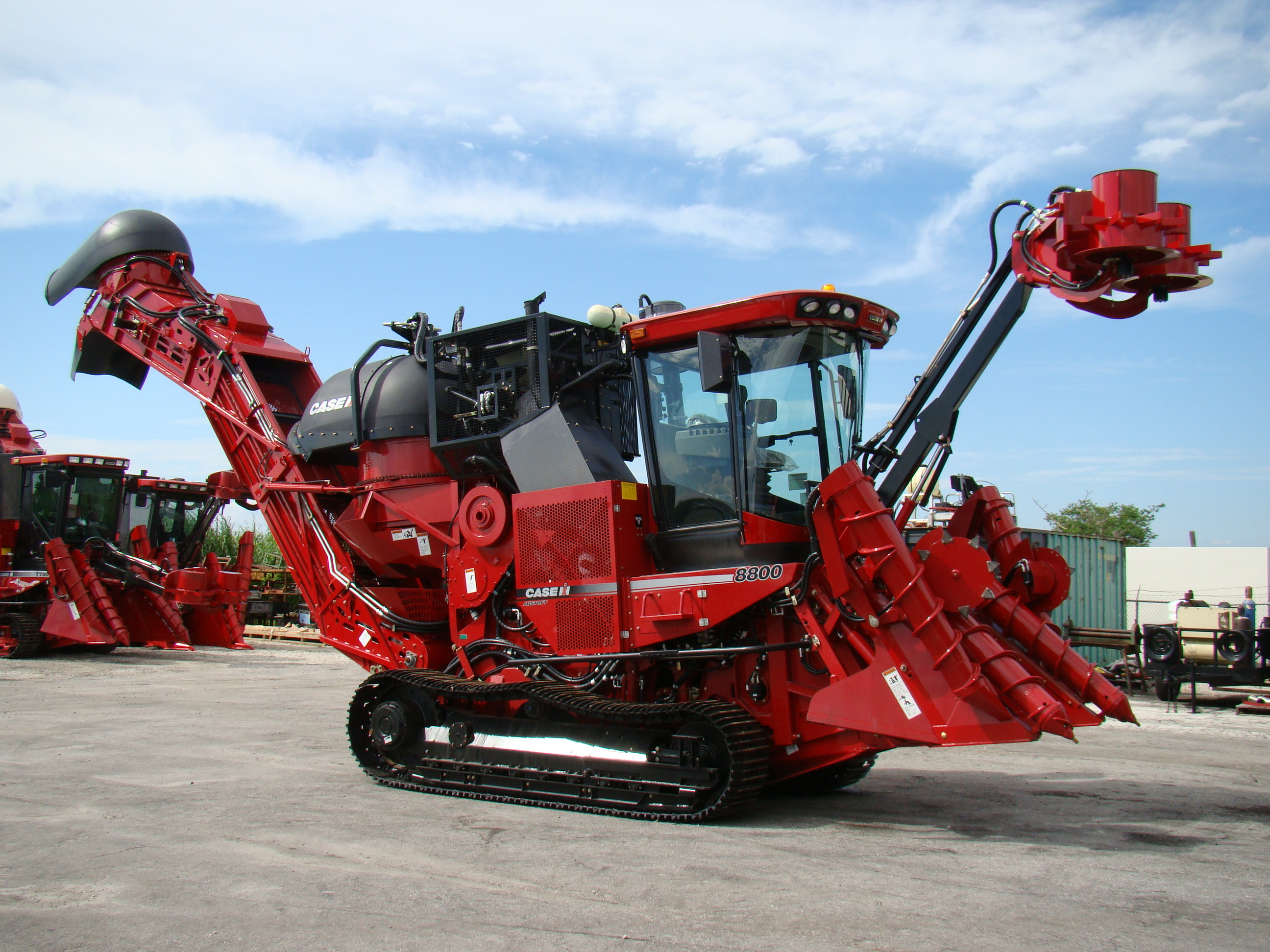 Cameco Sugar Cane Harvester : Sugar cane harvesters for sale